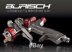 Air Compressor 100L + LVLP Spray Gun + 10m Air Hose + paint car DVD Burisch