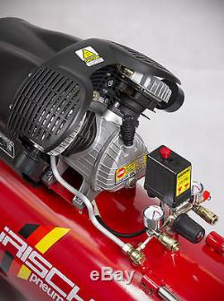 Air Compressor 100 litre 3HP 100L 100Ltr V Twin 14.1CFM Burisch