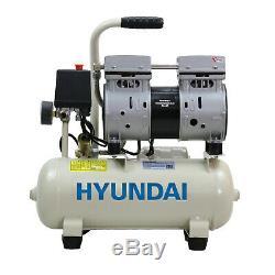 Air Compressor SUPER Silent 8L Portable Oil Free 550w 0.75HP 100PSI 7BAR 230v