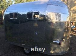 Airstream Style Caravan, Trailer, Catering, Bambi, Vintage Caravan, Air Stream C