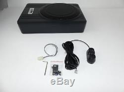Aktiv Auto Hifi Untersitz Subwoofer Bass Lautsprecher System 25cm 10 600w Sub