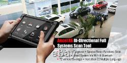 Ancel BT All System Code Reader Car Diagnostic Tool with 10 Tablet OBD2 Scanner