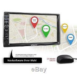 Android 5.1 Autoradio Mit Navigation Gps Wifi Wlan Obd2 Bluetooth 7monitor 2din