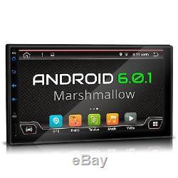 Android 6.0.1 Autoradio Mit Navigation Dab+ Obd2 Wifi 3g Bildschirm 2 Din Doppel