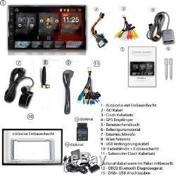 Android 8.0 AUTORADIO mit Navigation NAVI BLUETOOTH USB GPS 2 doppel DIN MP3 usb