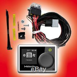 Aufrüstsatz Vw Zuheizer Webasto T5 Aufrüstkit Mit Multi Control Car Vorwahluhr