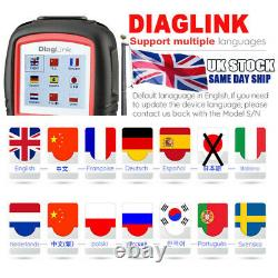 Autel Elite DiagLink EOBD2 Diagnostic Scanner All System Auto Car Code Reader UK