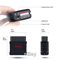 Autel MaxiCOM MK808BT OBD2 Auto Diagnostic Tool Scanner Code Reader ABS EPB DPF