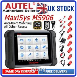 Autel MaxiSys MS906 Auto Diagnostic Tool PRO Code Reader OBD2 Scanner ECU Coding