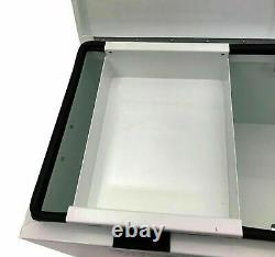 Autojack Steel Site Box Tool Storage Van Security Vault Safe Chest with 2 Keys