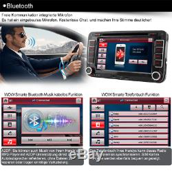 Autoradio GPS NAVI DVD DAB+ für VW TOURAN GOLF 5 6Plus PASSAT POLO TIGUAN Skoda