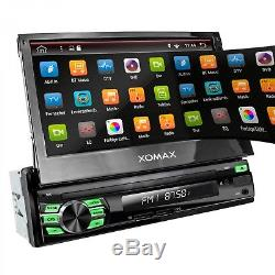 Autoradio Mit Android 7.1.1 4core 2gb Ram Navi Gps Bluetooth Dab+ Wifi Usb 1din