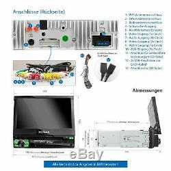 Autoradio Mit Android 8.1 2gb Ram Navi DVD Bluetooth Wifi 3g Dab+ Obd2 1din