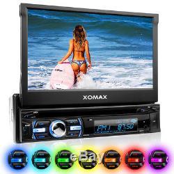 Autoradio Mit Bildschirm Touchscreen Bluetooth Usb Sd Mp3 Dvd/cd-player Aux 1din