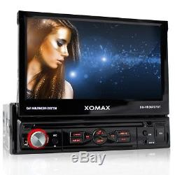 Autoradio Mit Bluetooth Touchscreen Usb Sd Mp3 Aux Rds 1din Single Din Ohne CD
