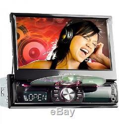 Autoradio Mit DVD CD Navigation Navi Gps Bluetooth 7 Bildschirm Usb Sd Mp3 1din