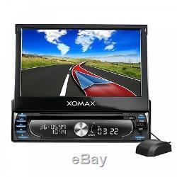 Autoradio Mit Navi Gps Navigation Bluetooth Touchscreen DVD CD Usb Sd Mp3 1din