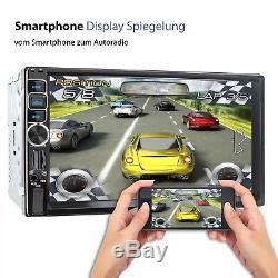 Autoradio Mit Navi Gps Usb Sd Bluetooth 7touch Monitor Mp3 Id3 Wma Mpeg-4 2din
