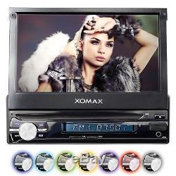Autoradio Mit Navigation Gps 7touchscreen Bildschirm Usb Sd Mp3 Rds Aux In 1din