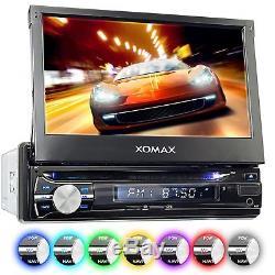 Autoradio Mit Navigation Navi Gps Bluetooth 7touchscreen DVD CD Usb Sd Mp3 1din
