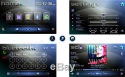 Autoradio Mit Touchscreen Display Bluetooth Dvd/cd-player Usb Sd Aux Doppel 2din