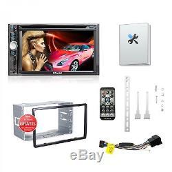 Autoradio mit Android App Touchscreen Bildschirm Bluetooth DVD CD USB SD 2DIN