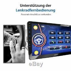 Autoradio mit Navi Gps 10 Zoll Touch Monitor Usb Bluetooth Mp3 Wma Mpeg4 2Din