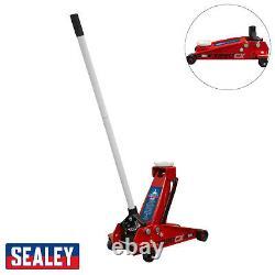 BC Sealey Professional 3 Ton/Tonne Hydraulic Compact Car Trolley Jack 3290CX