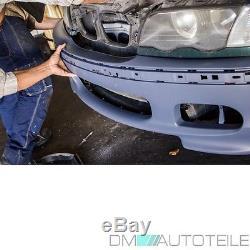 BMW E46 3 er STOßSTANGE Limousine Touring KOMPLETT+Nebel Set für M +MONTAGEKIT
