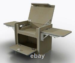 Birch Ply Camper Van furniture kitchen pod (POD-025)