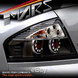 Black LED Altezza Tail Lights Ford Falcon Fairmont FPV BA BF Sedan XR6 XR8 Turbo