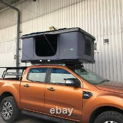 Black Overland Expedition Hard Shell Pop-up 2 Person Roof Top Camping Tent