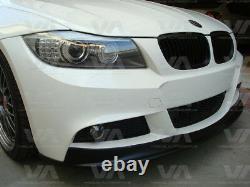 Bmw 3 Series E90 E91 M Sport Ak LCI Front Bumper Lip Spoiler Splitter