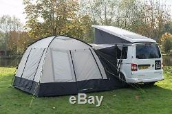 Camper Van Motorhome Drive Away Awning Poled Olpro Cubo (grey/black)