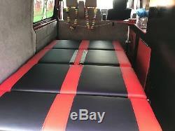 Campervan 3/4 Rock And Roll Bed VW T4, T5, T6 Transit, Vivaro, Trafic Mercedes