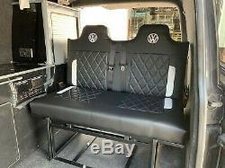 Campervan 3/4 Rock & Roll Bed Bespoke VW T4, T5, T6, Ford Vauxhall Renault Nissan
