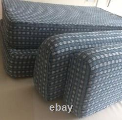 Campervan Boat Motorhome Bench Seat Rock n Roll bed/box Cushions made to order