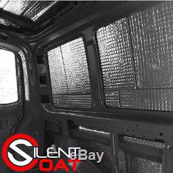 Campervan Van Sound Proofing Deadening And Insulation Kit VW T4 T5 Type 2 Bay