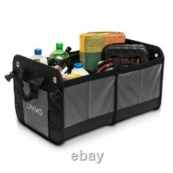 Car Boot Organiser Heavy Duty Collapsible Foldable Shopping Tidy Storage Trunk