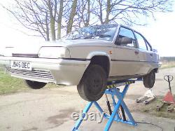 Car Lift, Mobile Scissor Lift. Great For Home/work Use