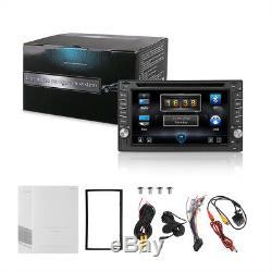 Car Stereo Apple CarPlay 6.2 Car Van Radio Touch Screen Double Din iPod iPhone