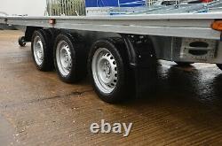 Car Transporter Trailer 3500KG Triple Axle 18ft x 6,8ft Recovery Trailer