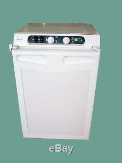 Caravan Motorhome Leisure 3 Way Absorption fridge 43 Litre New White