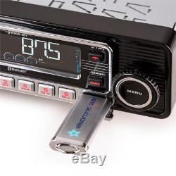 Classic Car Retro Autoradio Oldtimer Youngtimer Usb Sd Mp3 CD Bluetooth Radio