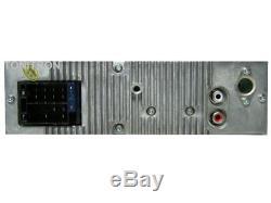 Classic Oldtimer Youngtimer Retro Radio Autoradio USB SD CD MP3 Aux In Chrom