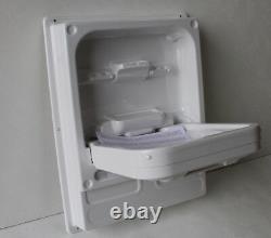 Cleo Tip Up Sink/Basin. Foldaway White PVC Basin. Caravan/Motorhome/Boat