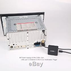 DAB+ Digital Radio MCX Antenne Aerial Verstärker für Android 6.0/7.1/8.0 Radio