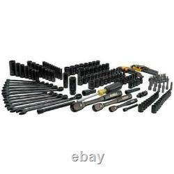 DEWALT 181 Piece Mechanics Tool Kit Spanner Socket Ratchet Set