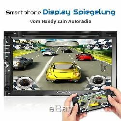 Dab+ Autoradio Mit Android 6.0.1 2gb 32gb Navi DVD Usb Sd Wlan Bluetooth 2din