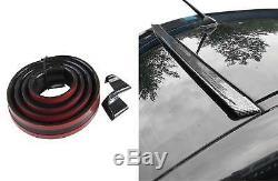 Dachspoiler Heckspoiler Spoiler Blende Lippe Glanz Schwarz für viele Fahrzeuge